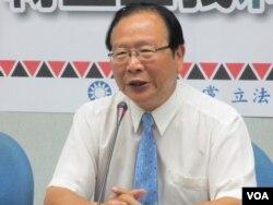 台湾在野党国民党立委林德福