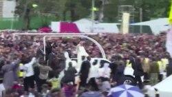 Misa ya Papa Nairobi Kenya Novemba 26