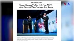 Tramp və NATO