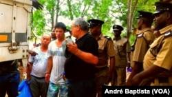 Madeireiros detidos no Malawi