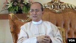 緬甸總統吳登盛(資料照片)