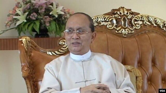 Burmese President Thein Sein