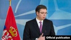 Perdana Menteri Serbia Aleksander Vucic (Foto: dok).