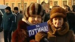Thousands Turn Out for Pro-Putin Rallies