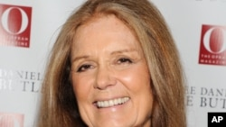 Gloria Steinem, July 31, 2013