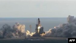 """დღეს კოსმოსურმა ხომალდის """"ენდევორის"""" გაშვება განხორციელდა"""