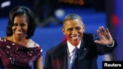 Predsednik Barak Obama i prva dama Amerike Mišel Obama