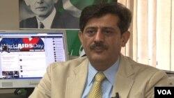پاکستان نیشنل ایڈز کنٹرول پروگرام کے سربراہ ڈاکٹر بصیر اچکزئی