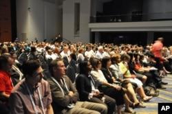 Une vue de l'assistance à la session du 22 juillet 2012