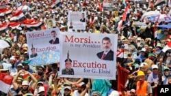 Protesti Morsijevih pristalica u Kairu