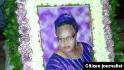 Mtangazaji wa kimataifa Ann Idrissu.