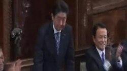 自民黨總裁安倍晉三再次擔任日本首相