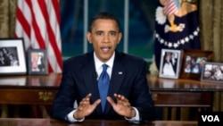 El presidente hizo un llamado al país para poner fin a su dependencia en el petróleo y desarrollar su industria de energía limpia.
