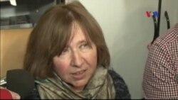Nhà văn Ukraine Svetlana Alexievich đoạt giải Nobel Văn chương