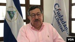 Exembajador de Nicaragua ante la OEA, Mauricio Díaz. Foto Daliana Ocaña.