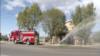 Поліція підозрює, що пожежа мечеті в Каліфорнії спричинена підпалом