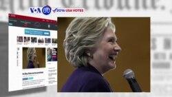 Manchetes Americanas 11 Outubro: Hillary Clinton ganhou o segundo debate presidencial