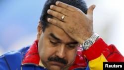 وینزویلا کے صدر نکولس میڈورو، فائل فوٹو
