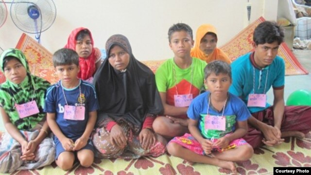 Rohingya refugees in the Southern province of Pattani, Thailand. (Photo courtesy Deep South Journalism School)