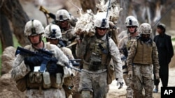 US Soldiers in Afghanistan (file photo)