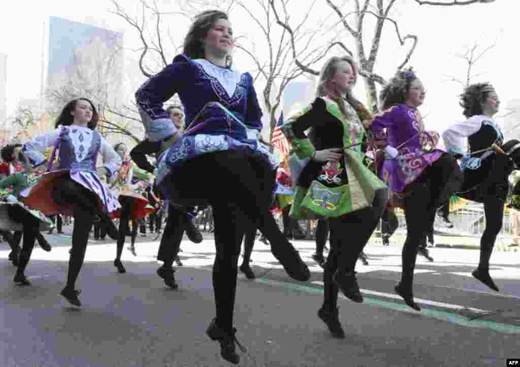 Один із найбільших парадів відбувся у Нью-Йорку.