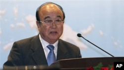 North Korean Foreign Minister Pak Ui-Chun (Aug 2010 file photo)