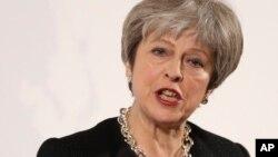 Theresa May, Firayim Ministar Birtaniya