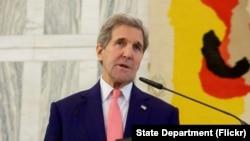 Menteri Luar Negeri AS, John Kerry.