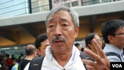 香港保釣行動委員會海上指揮羅就呼籲全球華人經濟制裁日本聲稱國有化釣魚台