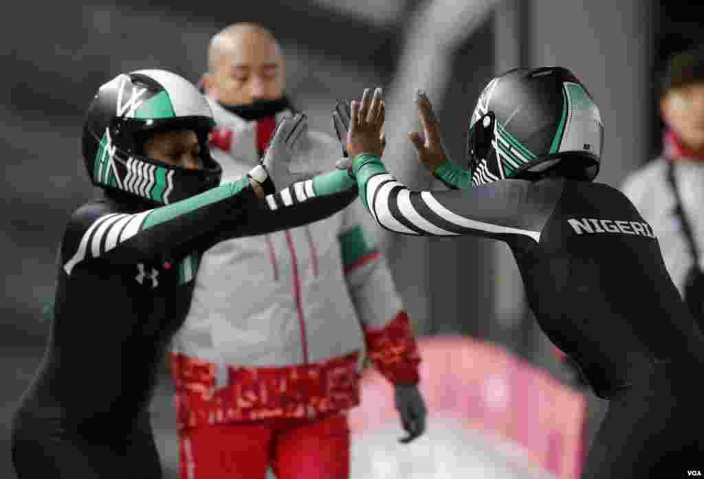 Wasan Tseren Dusar Kankara a Gasar Olympic ta Pyeongchang