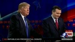 共和党总统候选人星期四激烈辩论