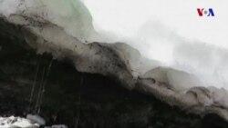 Antarktidada buzlar əriməyə davam edir