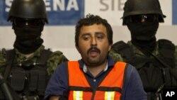Uno de los cabecillas de la banda de Los Zetas recientemente capturado en México.