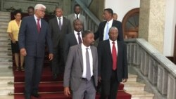 São Tomé e Príncipe: Oposição reforça acordo de incidência parlamentar