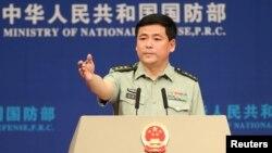 Một phát ngôn viên Bộ Quốc phòng Trung Quốc Nhậm Quốc Cường.