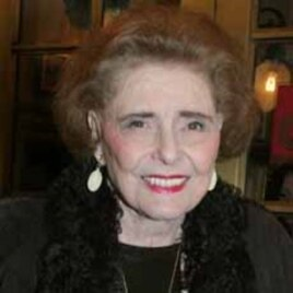 """Patricia Neal at the opening night performance of """"Doubt"""" on Broadway"""