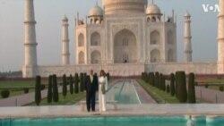 ԱՄՆ-ի նախագահն ու առաջին տիկինը այցելել են Թաջ Մահալ