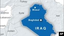 Peta wilayah Irak