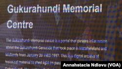 Gukurahundi Memorial Center