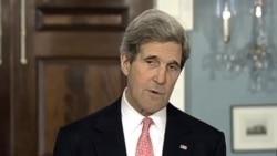 美国国务卿克里敦促对朝鲜采取强硬措施