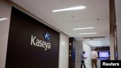 信息技術公司Kaseya在美國佛羅里達州邁阿密市的總部(路透社資料圖)