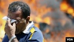 La semana pasada los disturbios en el centro de la capital egipcia acabaran con más de 1.000 heridos.