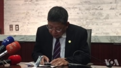 台湾陆委会副主委林正义在华府就两岸关系发表演说
