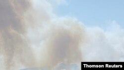 آتشسوزی گسترده روز پنجشنبه در استان موغله در ترکیه