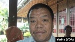 Direktur Rehabsos Tuna sosial dan KPO Kemensos Sonny W Manalu (Foto: VOA/Yudha)