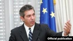 歐洲聯盟人權問題特別代表蘭布里尼迪斯。(資料圖片)