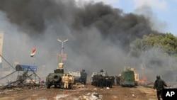 开罗大学附近的抗议营地被清场