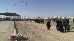 عبور ده ها هزار زائر ایرانی از مرز شلمچه