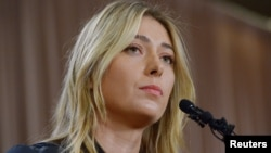 Maria Sharapova failed a drug test at the Australian Open in January. After a hearing, the International Tennis Federation suspended her for two years. (Jayne Kamin-Oncea USA TODAY Sports)