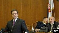 Borislav Stefanović na sednici Odbora za Kosovo i Metohiju o izvestaju Vlade o dogovoru Beograda i Pristine o regionalnom predstavljanju Kosova.